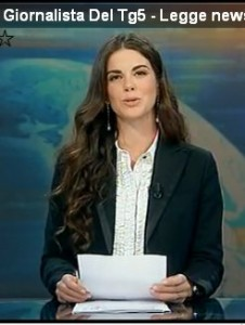 La bella nuova giornalista del TG5